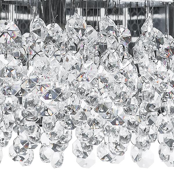 Потолочная люстра Lightstar Bezazz 743064, 6xG9x40W, хром, прозрачный, металл, пластик, стекло - фото 2