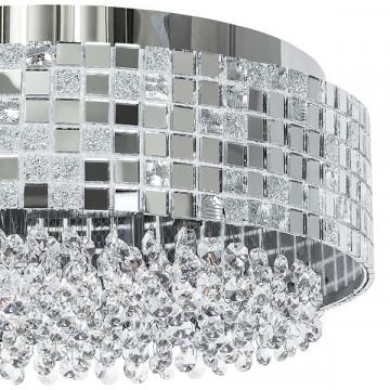 Потолочная люстра Lightstar Bezazz 743064, 6xG9x40W, хром, прозрачный, металл, пластик, стекло - миниатюра 3