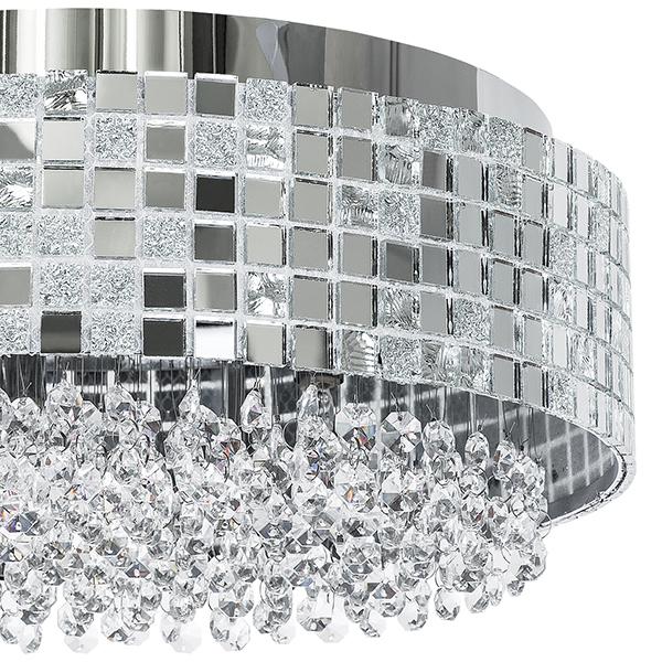 Потолочная люстра Lightstar Bezazz 743064, 6xG9x40W, хром, прозрачный, металл, пластик, стекло - фото 3