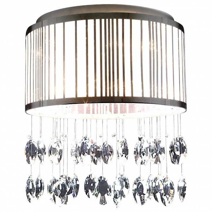 Потолочная люстра Lightstar Cappe 745094, 9xG9x6W, хром, белый, прозрачный, металл, металл с пластиком, хрусталь - фото 1