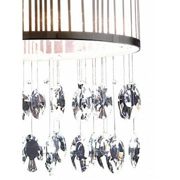 Потолочная люстра Lightstar Cappe 745094, 9xG9x6W, хром, белый, прозрачный, металл, металл с пластиком, хрусталь - миниатюра 2