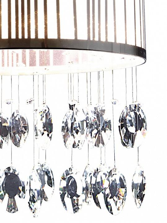 Потолочная люстра Lightstar Cappe 745094, 9xG9x6W, хром, белый, прозрачный, металл, металл с пластиком, хрусталь - фото 2