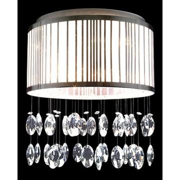Потолочная люстра Lightstar Cappe 745094, 9xG9x6W, хром, белый, прозрачный, металл, металл с пластиком, хрусталь - миниатюра 3