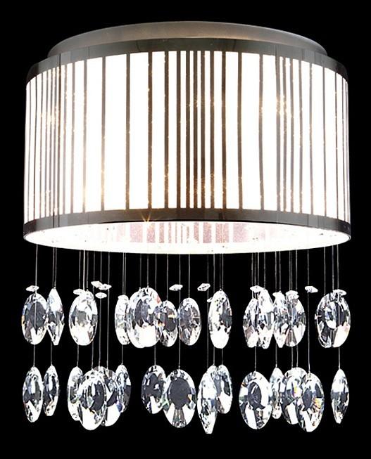 Потолочная люстра Lightstar Cappe 745094, 9xG9x6W, хром, белый, прозрачный, металл, металл с пластиком, хрусталь - фото 3