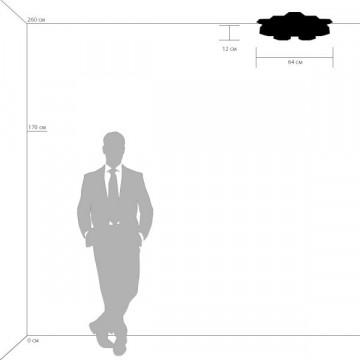 Схема с размерами Lightstar 750163
