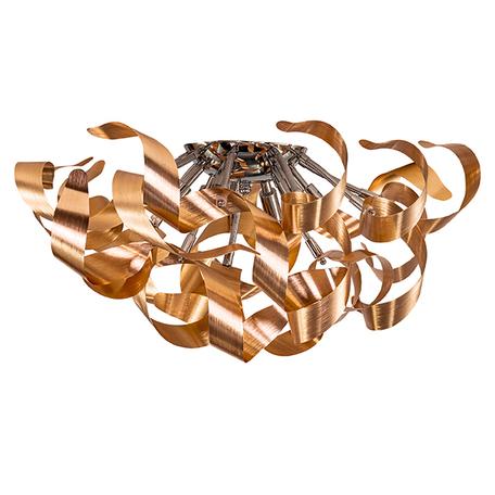 Потолочная люстра Lightstar Turbio 754061, 6xG9x40W, медь, металл