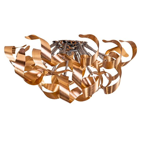 Потолочная люстра Lightstar Turbio 754061, 6xG9x40W, медь, металл - фото 1