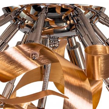 Потолочная люстра Lightstar Turbio 754061, 6xG9x40W, медь, металл - миниатюра 3