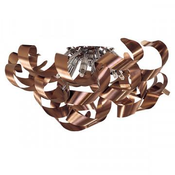 Потолочная люстра Lightstar Turbio 754068, 6xG9x40W, медь, металл