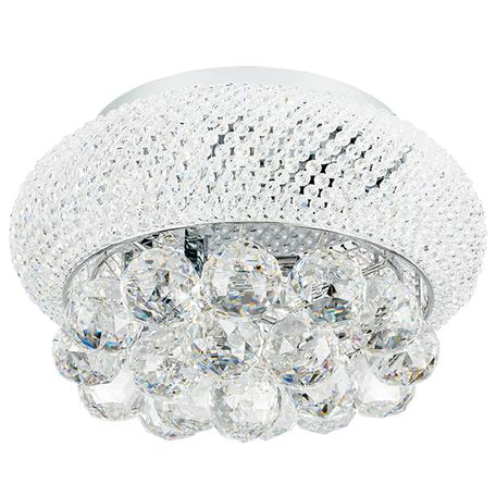 Потолочная люстра Lightstar Osgona Monile 704034, 3xE14x40W, хром, прозрачный, металл, хрусталь
