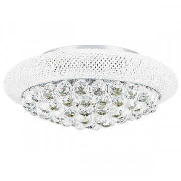 Потолочная люстра Lightstar Osgona Monile 704094, 9xE14x40W, хром, прозрачный, металл, хрусталь