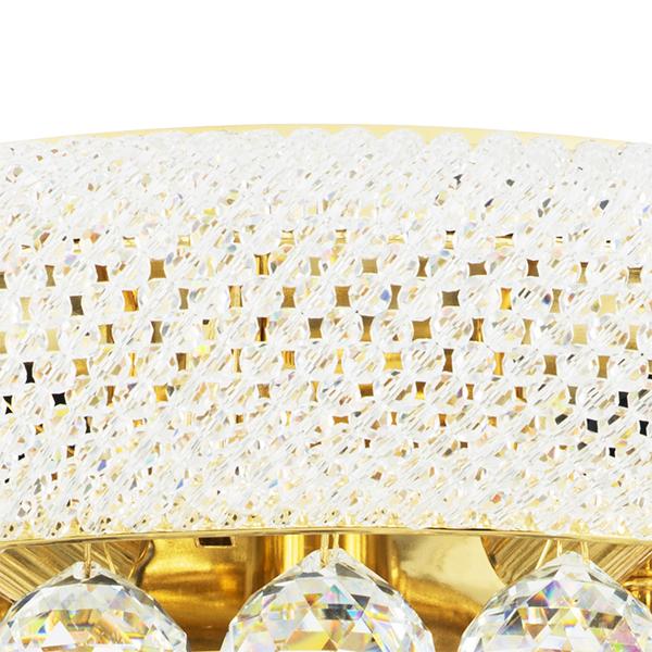 Потолочная люстра Lightstar Osgona Monile 704172, 17xE14x40W, золото, прозрачный, металл, хрусталь - фото 2
