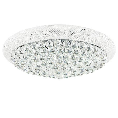 Потолочная люстра Lightstar Osgona Monile 704174, 17xE14x40W, хром, прозрачный, металл, хрусталь