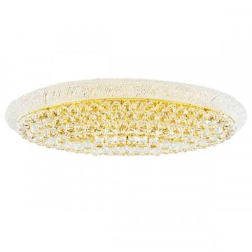 Потолочная люстра Lightstar Osgona Monile 704212, 21xE14x40W, золото, прозрачный, металл, хрусталь