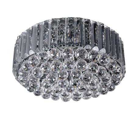 Потолочная люстра Lightstar Osgona Regolo 713054, 6xE14x60W, хром, прозрачный, металл, хрусталь