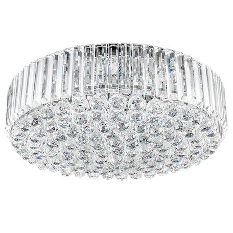 Потолочная люстра Lightstar Osgona Regolo 713154, 15xE14x60W, хром, прозрачный, металл, хрусталь