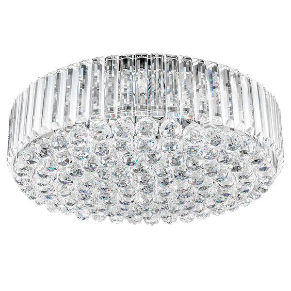 Потолочная люстра Lightstar Osgona Regolo 713154, 15xE14x60W, хром, прозрачный, металл, хрусталь - фото 1