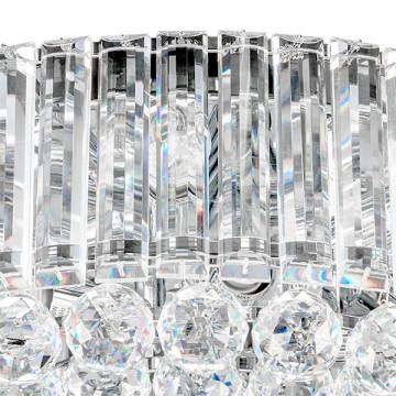 Потолочная люстра Lightstar Osgona Regolo 713154, 15xE14x60W, хром, прозрачный, металл, хрусталь - миниатюра 2