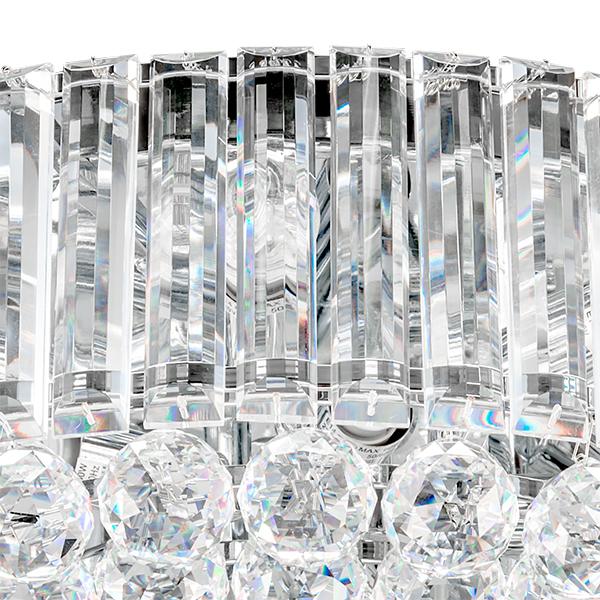 Потолочная люстра Lightstar Osgona Regolo 713154, 15xE14x60W, хром, прозрачный, металл, хрусталь - фото 2
