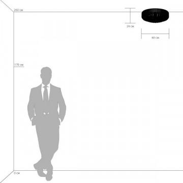 Потолочная люстра Lightstar Osgona Regolo 713154, 15xE14x60W, хром, прозрачный, металл, хрусталь - миниатюра 4