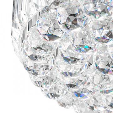 Потолочная люстра Lightstar Osgona Regolo 713154, 15xE14x60W, хром, прозрачный, металл, хрусталь - миниатюра 6