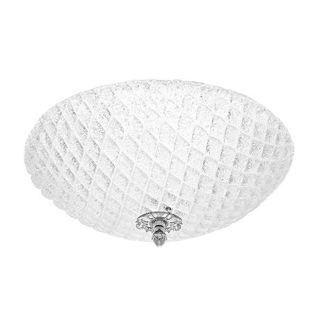 Потолочный светильник Lightstar Murano 602070, 7xE14x40W, хром, белый, металл, стекло