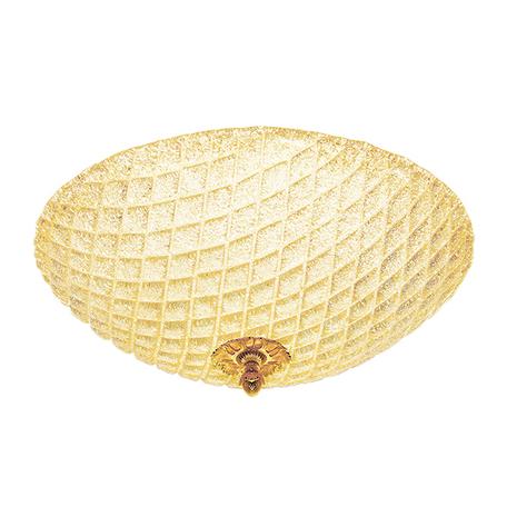 Потолочный светильник Lightstar Murano 602073, 7xE14x40W, золото, янтарь, металл, стекло - миниатюра 1