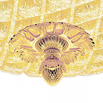 Потолочный светильник Lightstar Murano 602073, 7xE14x40W, золото, янтарь, металл, стекло - миниатюра 2