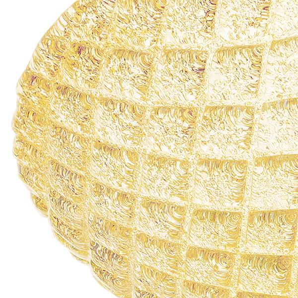 Потолочный светильник Lightstar Murano 602073, 7xE14x40W, золото, янтарь, металл, стекло - фото 3