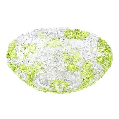Потолочный светильник Lightstar Murano 604074, 6xE14x40W, белый, зеленый, прозрачный, металл, стекло