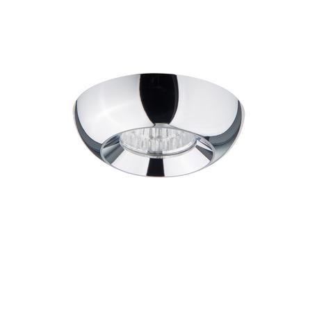 Встраиваемый светодиодный светильник Lightstar Monde 071134, IP44, LED 3W 4000K 240lm, хром, металл