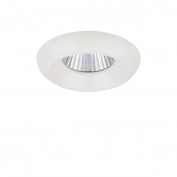 Встраиваемый светодиодный светильник Lightstar Monde 071176, IP44, LED 7W 4000K 560lm, белый, металл