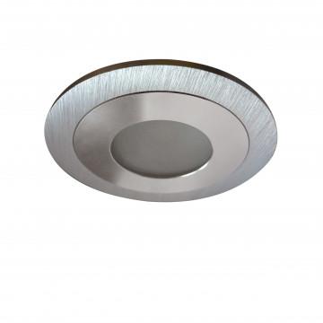 Встраиваемый светодиодный светильник Lightstar LEDdy 212170, IP44, LED 3W 3000K 240lm, алюминий, металл