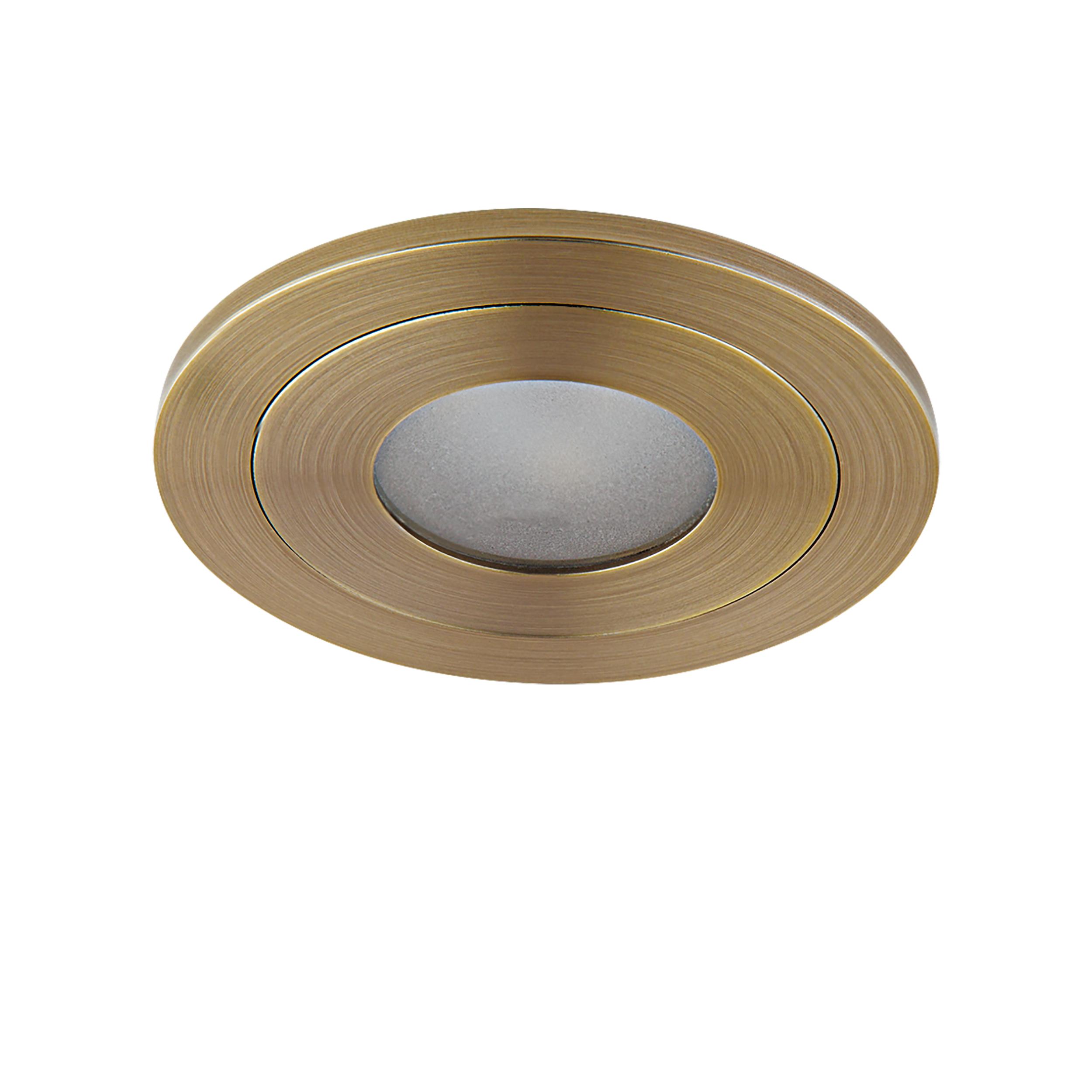 Встраиваемый светодиодный светильник Lightstar LEDdy 212173, IP44, LED 3W 4000K 240lm, бронза, металл - фото 1