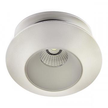 Встраиваемый светодиодный светильник с регулировкой направления света Lightstar Orbe 051206, LED 15W 4000K 1240lm, белый, металл