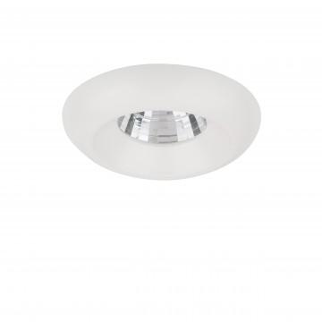 Встраиваемый светодиодный светильник Lightstar Monde 071156, IP44 4000K (дневной), белый, прозрачный, металл, стекло
