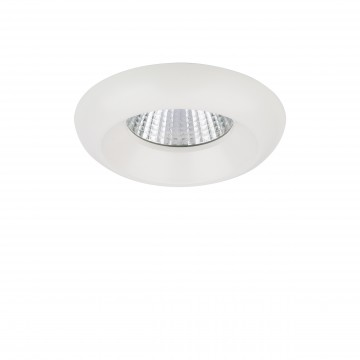 Встраиваемый светодиодный светильник Lightstar Monde 071176, IP44, 4000K (дневной), белый, прозрачный, металл, стекло