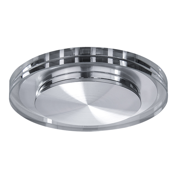 Встраиваемый светодиодный светильник Lightstar Speccio 070314, IP44, LED 5W 4000K 380lm, прозрачный, стекло - фото 1