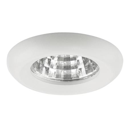 Встраиваемый светодиодный светильник Lightstar Monde 071116, IP44, LED 1W 4000K 80lm, белый, металл