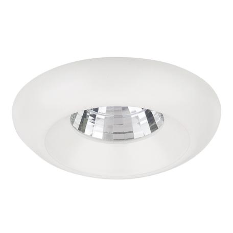 Встраиваемый светодиодный светильник Lightstar Monde 071156, IP44, LED 5W 4000K 400lm, белый, металл