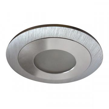Встраиваемый светодиодный светильник Lightstar LEDdy 212171, IP44, LED 3W 4200K 240lm, алюминий, металл