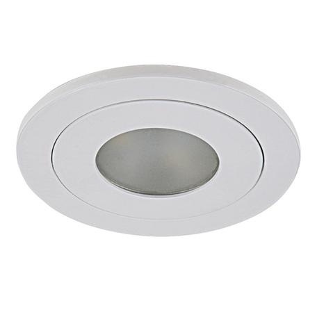 Встраиваемый светодиодный светильник Lightstar LEDdy 212176, IP44, LED 3W 4000K 240lm, белый, металл