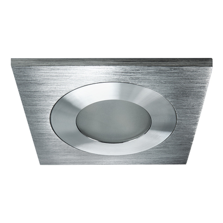 Встраиваемый светодиодный светильник Lightstar LEDdy 212181, IP44, LED 3W 4000K 240lm, алюминий, металл