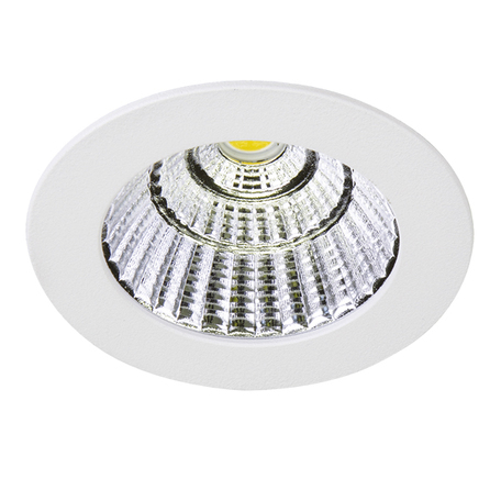 Встраиваемый светодиодный светильник Lightstar Soffi 11 212416, LED 7W 3000K 630lm, белый, металл - миниатюра 1