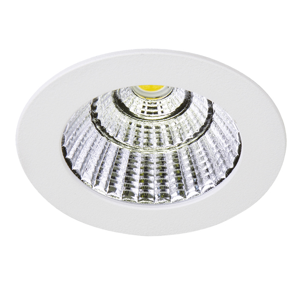 Встраиваемый светодиодный светильник Lightstar Soffi 11 212416, LED 7W 3000K 630lm, белый, металл - фото 1