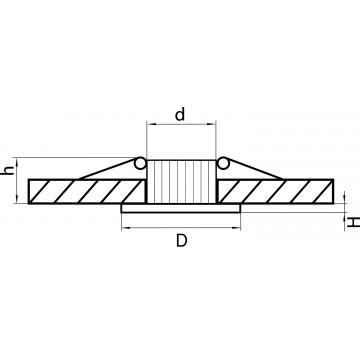 Схема с размерами Lightstar 212416
