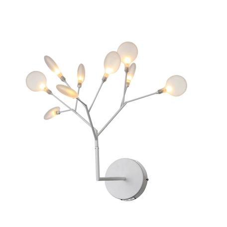 Бра ST Luce Riccardo SL411.521.09, 9xG4x1,5W, белый, металл, стекло