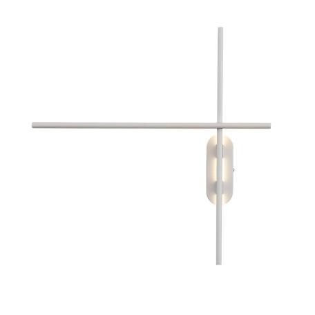 Настенный светодиодный светильник ST Luce Basoni SL394.501.02, LED 20W 4000K 1167lm, белый, металл
