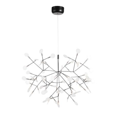 Подвесная светодиодная люстра ST Luce Rafina SL379.403.63, IP21, LED 32W 3500K 2208lm, черный, белый, металл, пластик