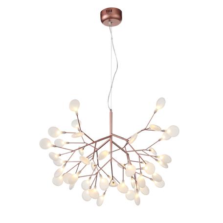 Подвесная люстра ST Luce Riccardo SL411.323.45, 45xG4x1,5W, медь, белый, металл, стекло